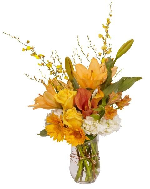 Bouquet douceur d 39 automne bouquet vase fleurs - Bouquet d automne ...
