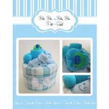 Bébé Bleu Petit