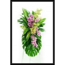 Gerbe d'orchidées