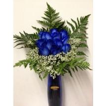 Bouquet Roses Bleues