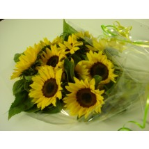 Tournesols en Bouquet