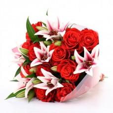 Rose & Lillies