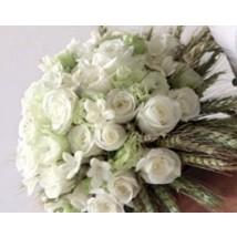 Bouquet en blanc