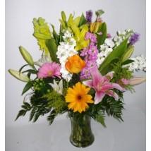 Vase rayon de lune Fleuriste Lasalle
