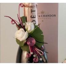 Décoration Bouteille Champagne